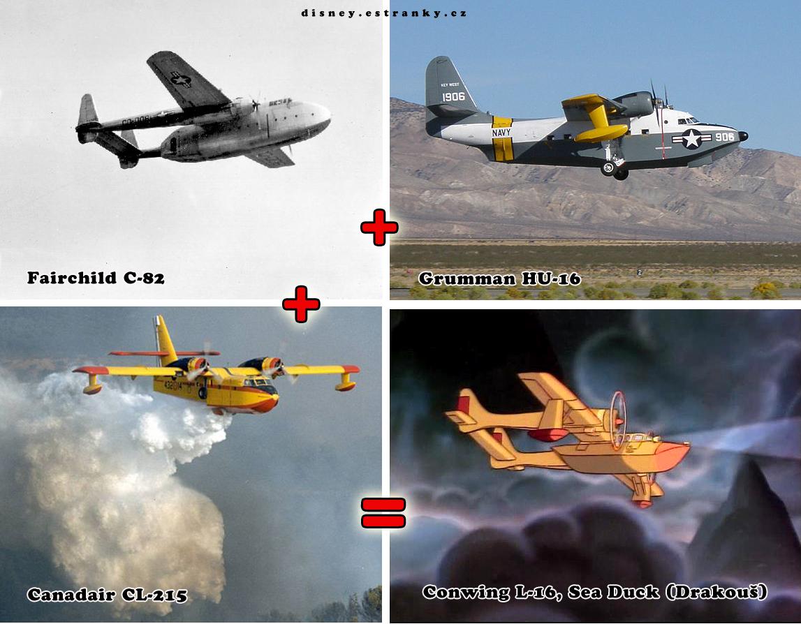 jak vzniklo letadlo Drakouš